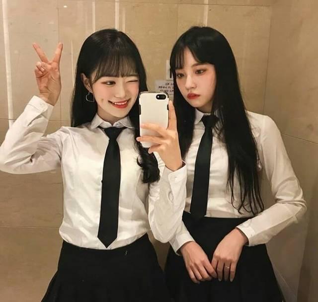 韓国女子高生 その疑問に答えます!韓国の女子高生の制服事情&着こなし術を大 ...